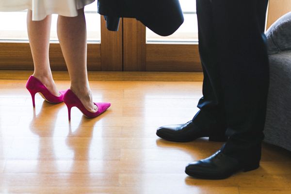 bride-shoes-fuchsia