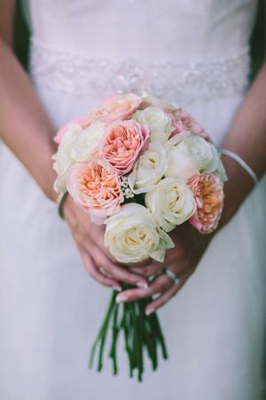 bridal-bouquetes-blush-pink-roses
