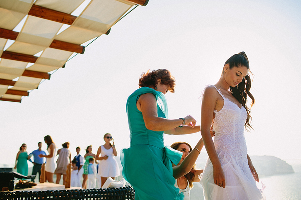 Shabby chic wedding in Santorini | Vana & Vasilis - Chic & Stylish ...