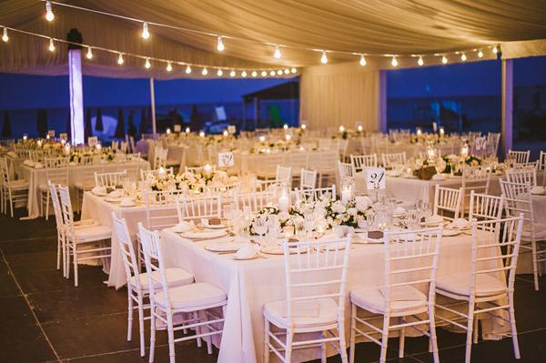 Elegant cyprus wedding in ayia napa elena roy chic stylish hydrangeas wedding decorations junglespirit Images