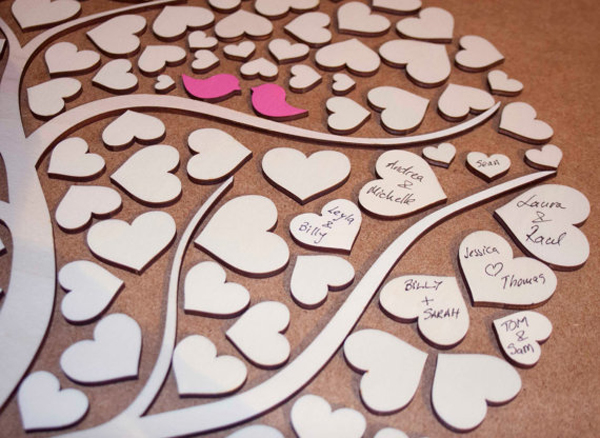 Wedding guest book ideas - Chic & Stylish Weddings