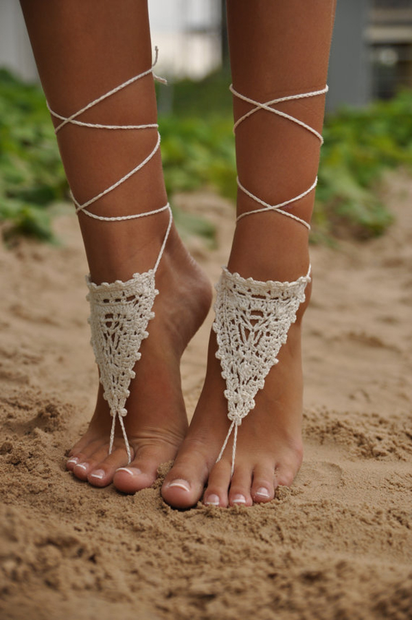 a969ab8b1 Barefoot Wedding Sandals For Brides Chic Stylish Weddings
