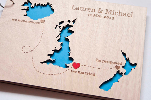 Wedding guest book ideas Chic Stylish Weddings