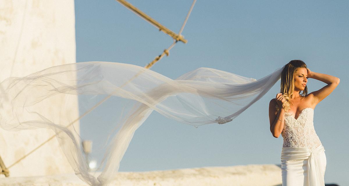 Elegant & chic wedding in Mykonos | Rossella & Spiros - Chic ...