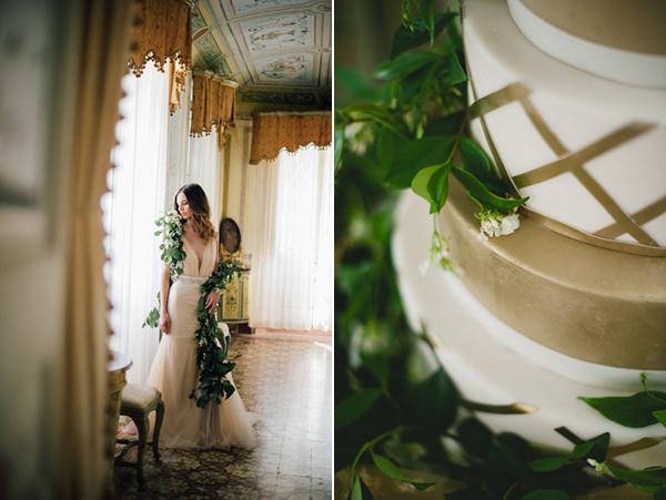 gold-lattice-wedding-cake