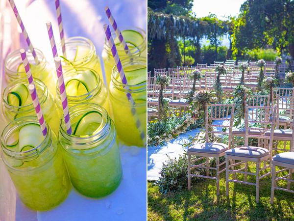 Destination wedding in Corfu| Katie & Roubesh - Chic