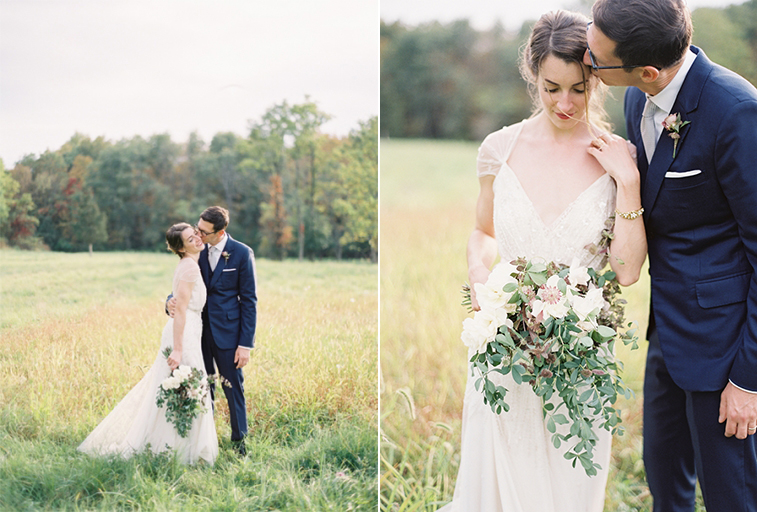 Romantic outdoor wedding in new york alexandra jonathan for Outdoor wedding new york