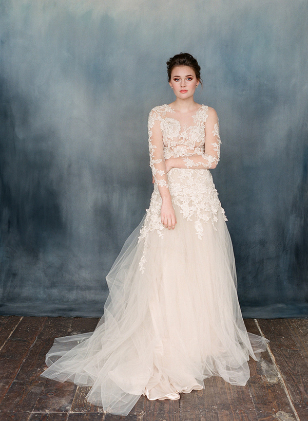 Emily Riggs bridal romantic & beautiful wedding dresses - Chic ...