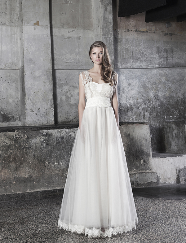 Wedding Dresses 2015 Katia Delatolai Dreamt Of A Butterfly Chic