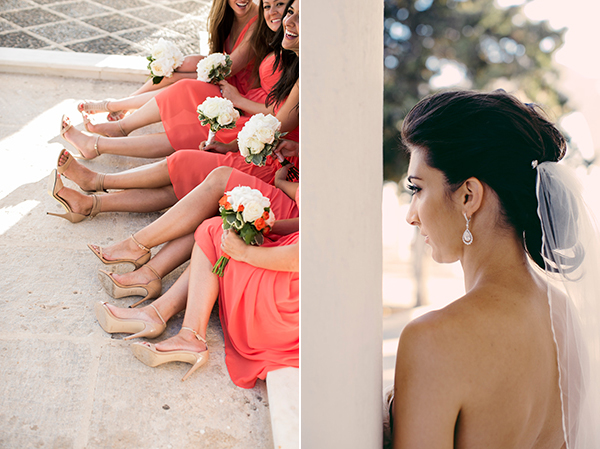 bride-bridesmaids-santorini-wedding