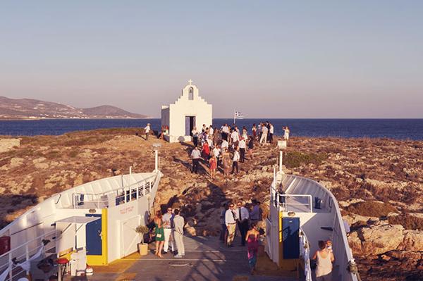 greek-destination-wedding-ferry-boat