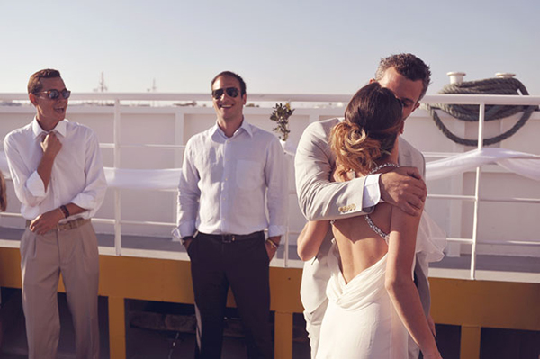 on-board-ferry-boat-wedding-greece