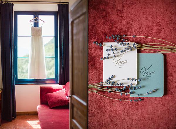 Aidan-Mattox-wedding-dress-invitations