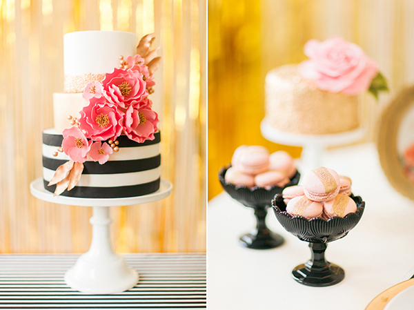 Wedding-cake-with-stripes