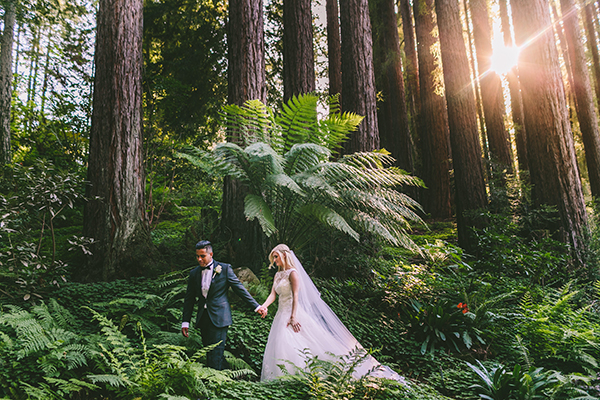 california-elegant-woodlands-wedding