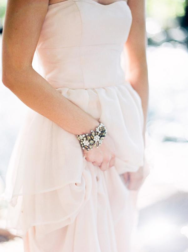 Blush-Strapless-Wedding-Dress in-Pink-Silk (2)