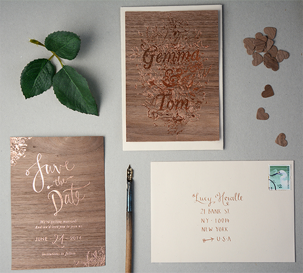 copper-foil-wooden-invitations