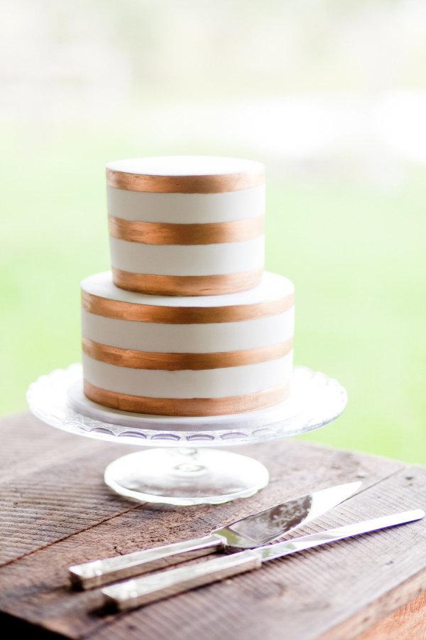 copper-wedding-cake