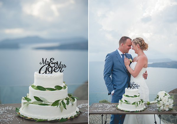 white-wedding-cake-couple-in-santorini