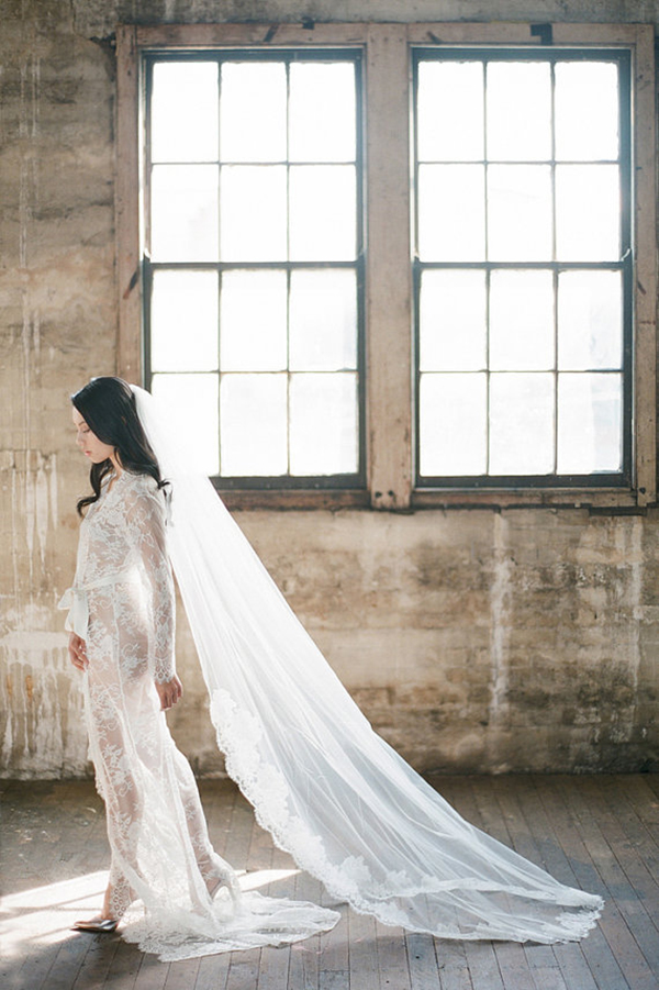 French-Lace-Cathedral-Length-Veil (2)