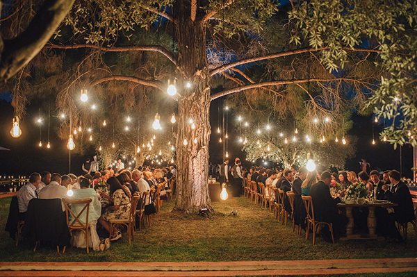 Enchanting olive grove wedding jasmine david chic stylish string lights wedding junglespirit Image collections