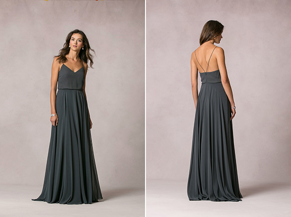 charcoal-bridesmaid-dresses