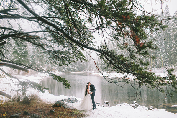 Winter wedding at Lake Tahoe | Solomita & Cameron