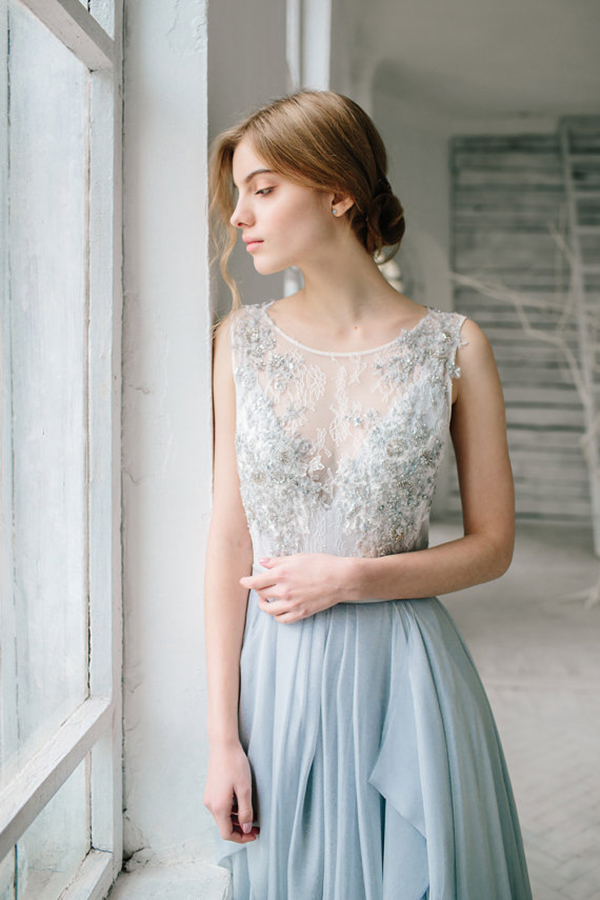 silver-grey-wedding-gown