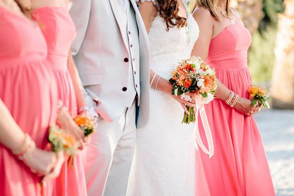 orange-wedding-flowers