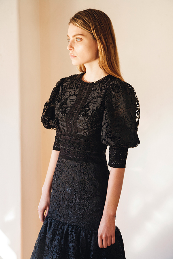 stylish-black-wedding-guest-dress