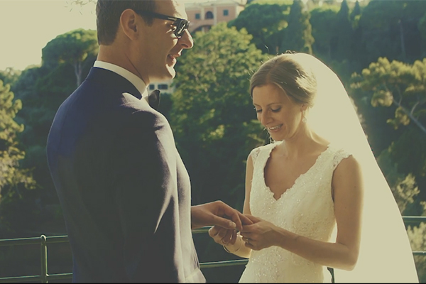 Romantic wedding video in Italy |Christine & Kris