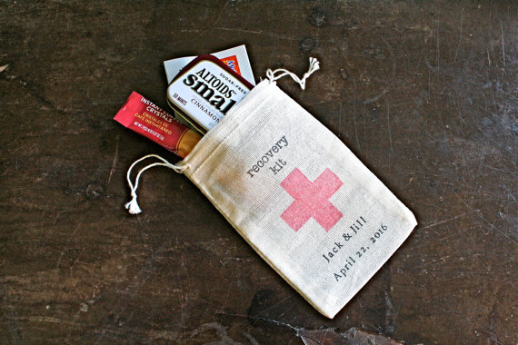 Personalized Recovery Kit Bags