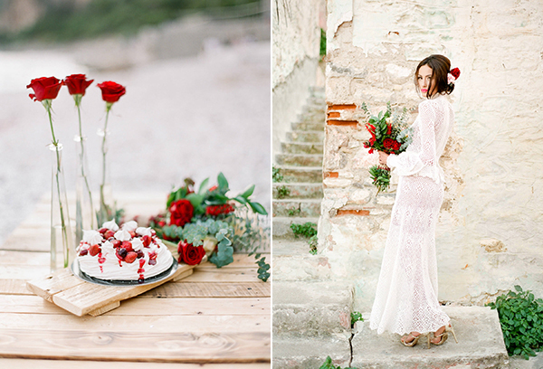 red-boho-wedding-decoration