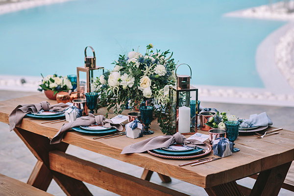 copper-wedding-decoration