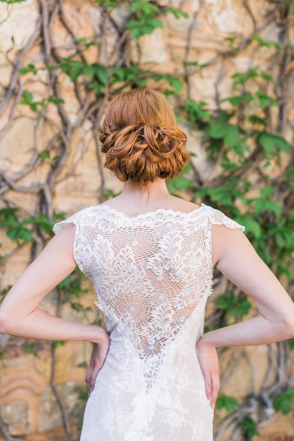 low-chignon-bride
