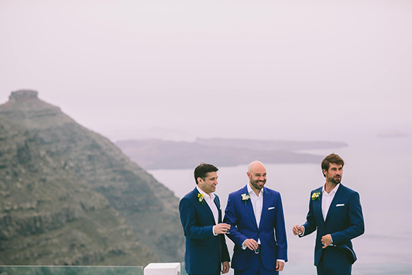 weddding-santorini-greece-grrom-suit-blue