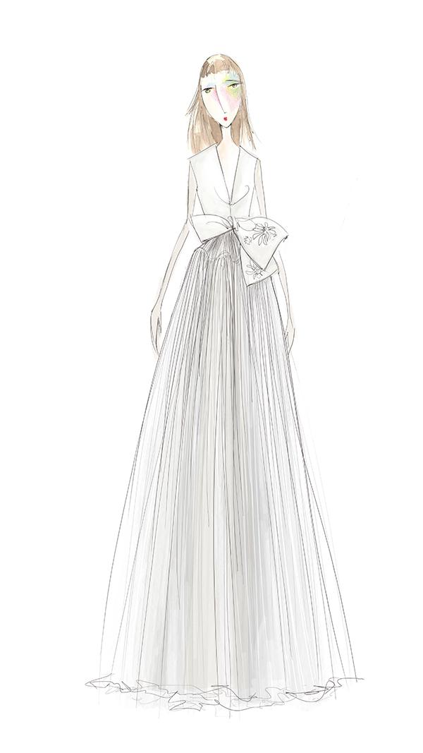 moda-operandi-delpozo-bridal-sketch