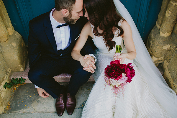 bridal-bouquet-marsala