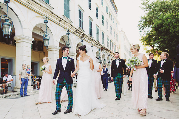 Elegant wedding in Corfu
