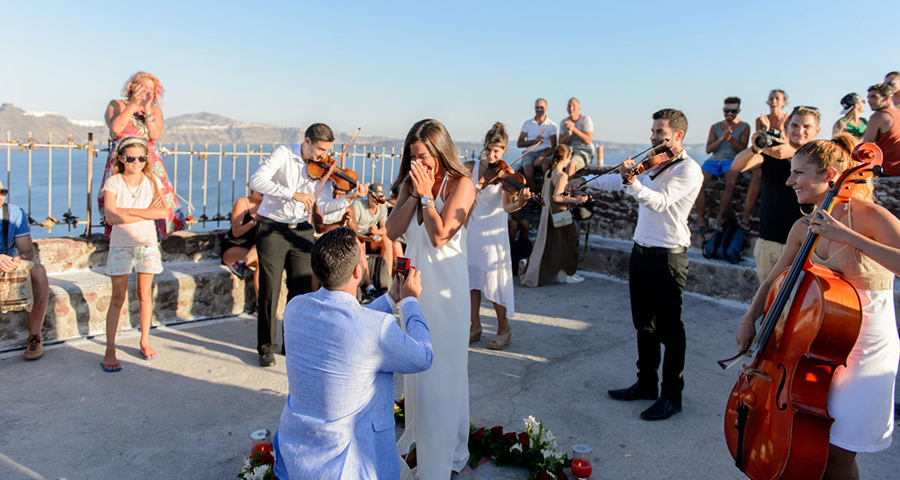The Most Romantic Wedding Proposal Ever Chic Stylish Weddings