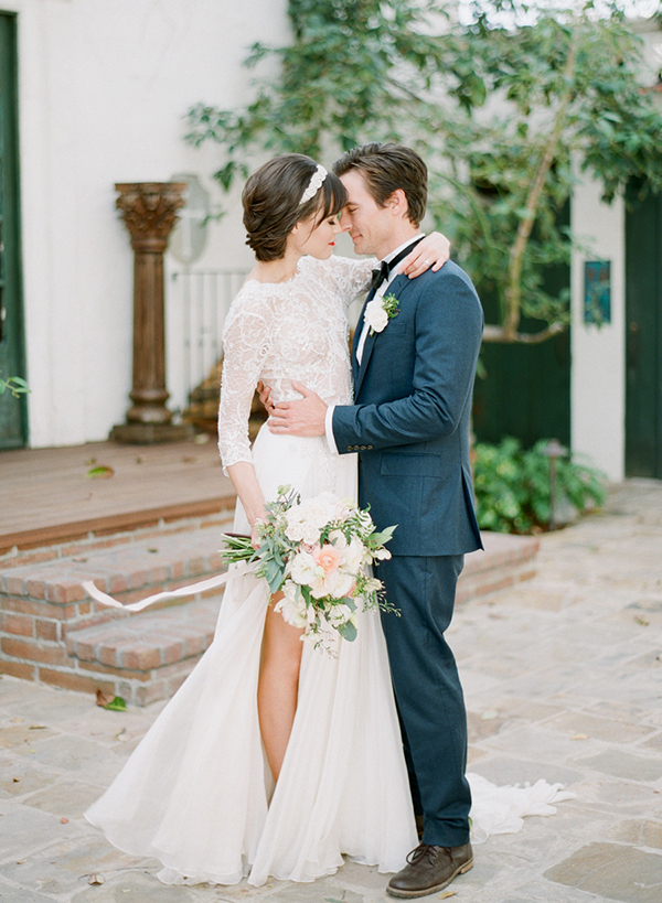 Breathtaking wedding inspirational shoot