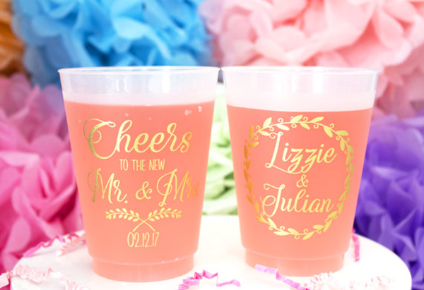Personalized Plastic Cup