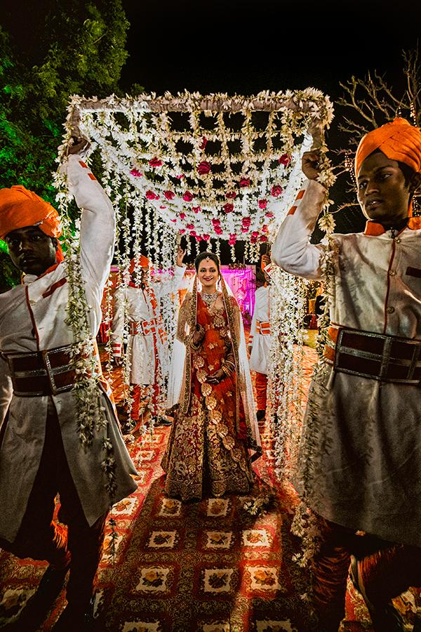 Colourful indian wedding