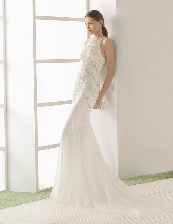 Rosa clara wedding dresses bridal collection 2017 chic for Wedding dress rosa clara