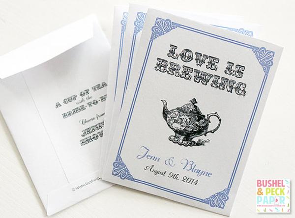 Personalized Tea Pouches