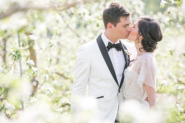 Elegant orchard wedding inspiration shoot