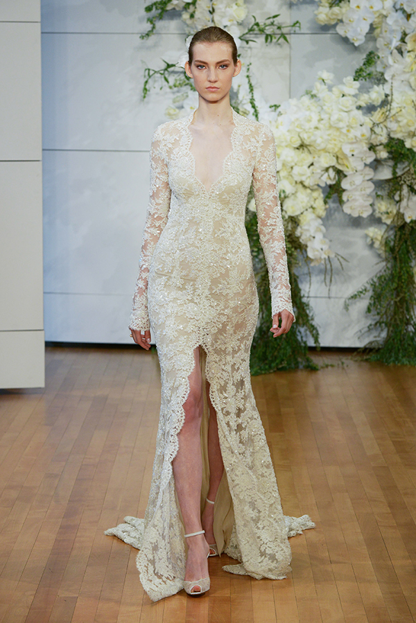 Monique lhuillier wedding dresses 2018 bridal show chic wedding dresses monique lhuillier junglespirit Gallery