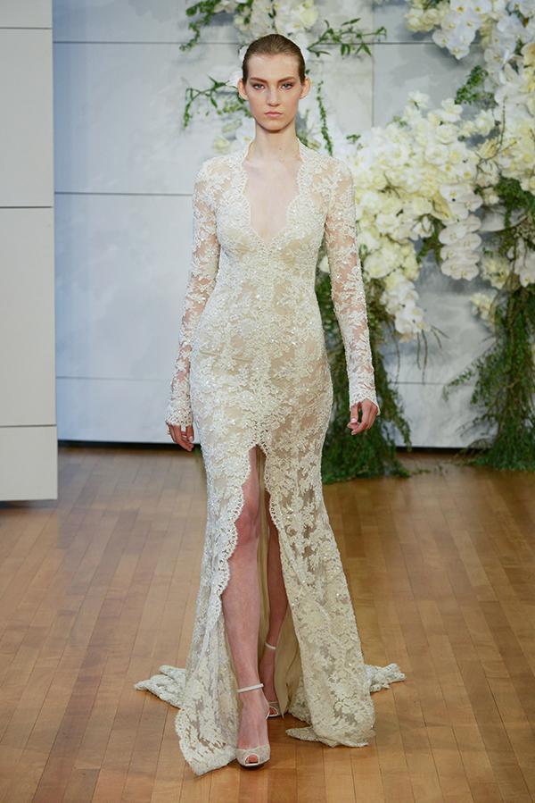 Monique lhuillier wedding dresses 2018 bridal show chic wedding dresses monique lhuillier junglespirit Gallery