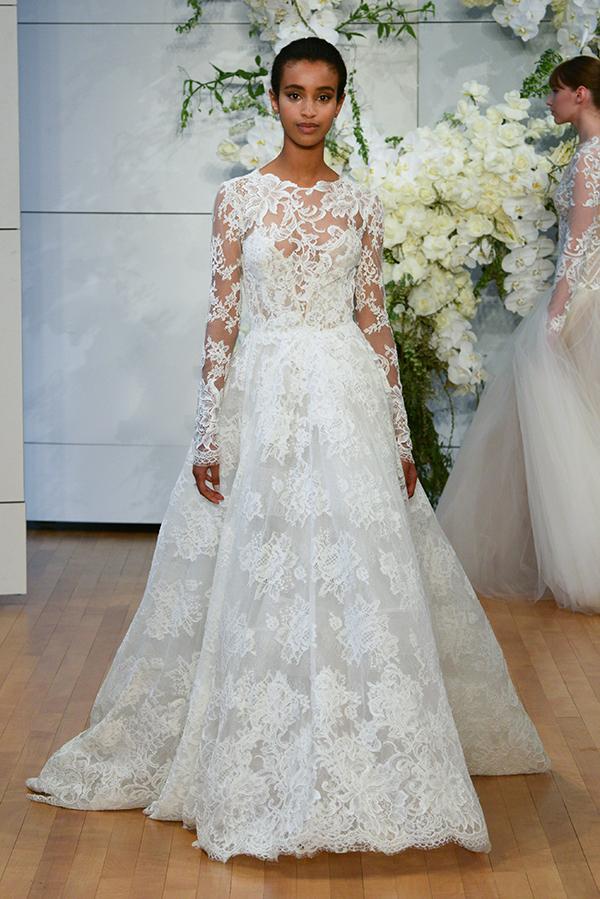 Monique Lhuillier wedding dresses | 2018 Bridal Show - Chic ...