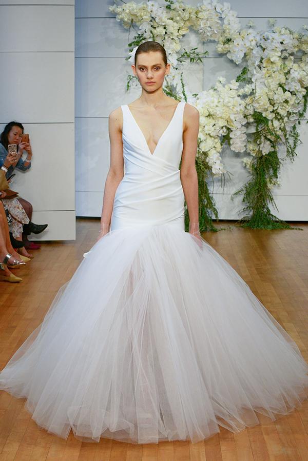 Monique lhuillier wedding dresses 2018 bridal show for Monique lhuillier wedding dress designers
